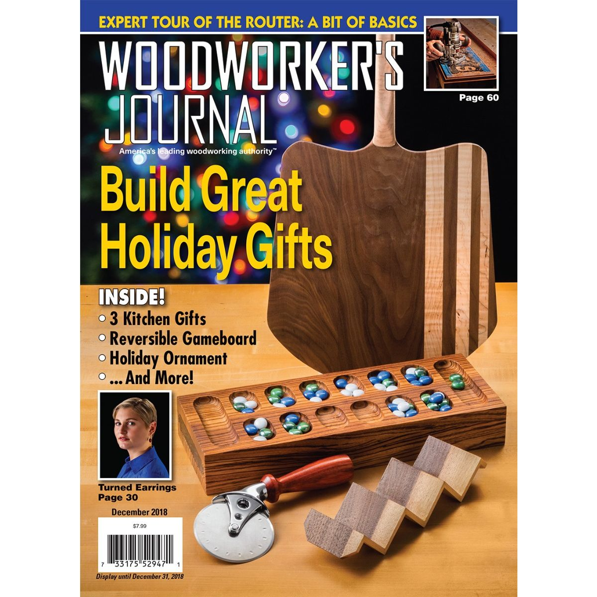 Woodworker S Journal November December 2018 Rockler Woodowrking