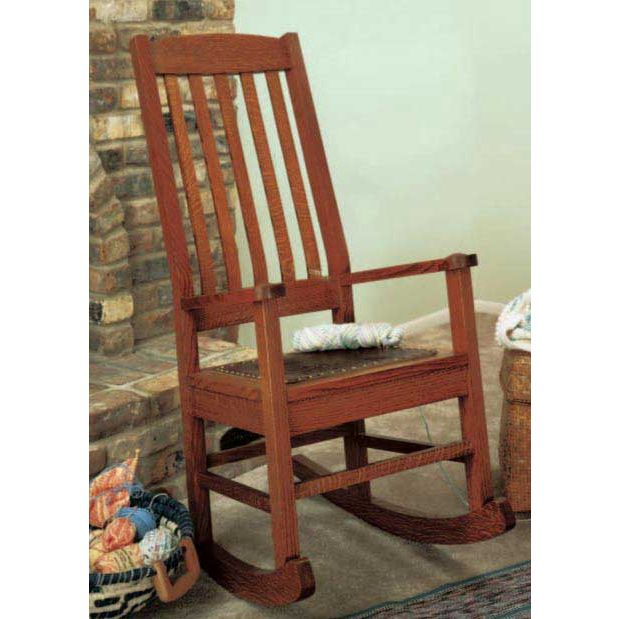 Ordinaire Craftsman Style Rocking Chair