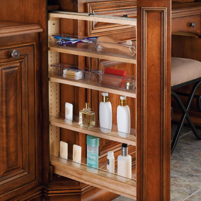 Rev-A-Shelf Filler Pullout Organizer for Vanities (432-VF Series ...