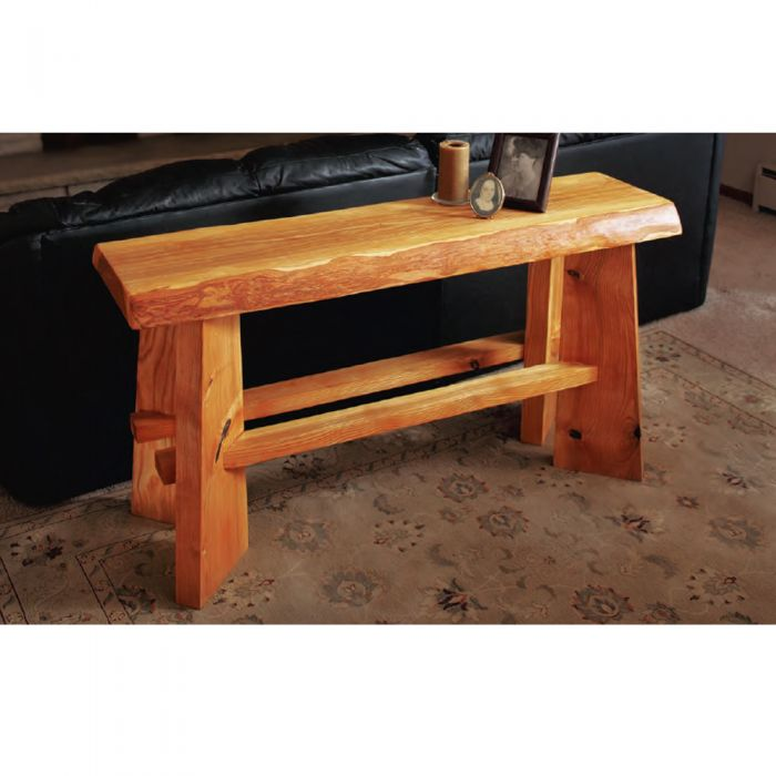 Buy Slab Top Sofa Table Downloadable Plan