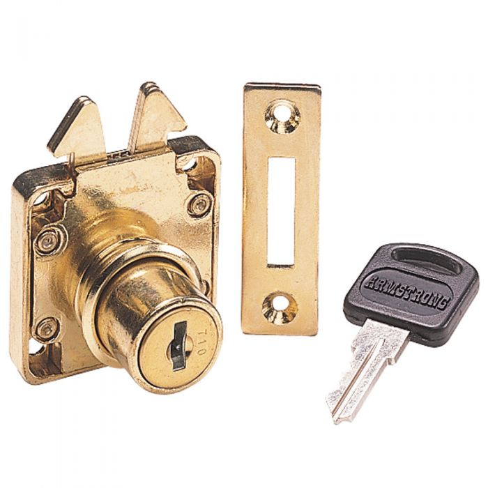 Surface Mounted Rolltop Desk Lock - Surface Mounted Rolltop Desk Lock (keyed Alike) Rockler
