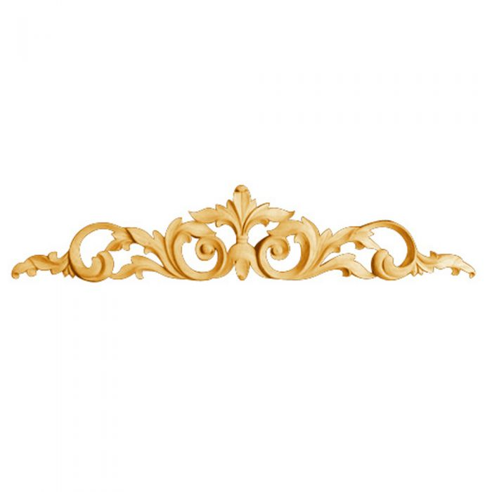 Buy Bendix Hand Carved Decorative Acanthus Leaf Centers-Maple