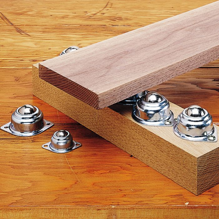 ball bearing rollers rockler woodworking tools