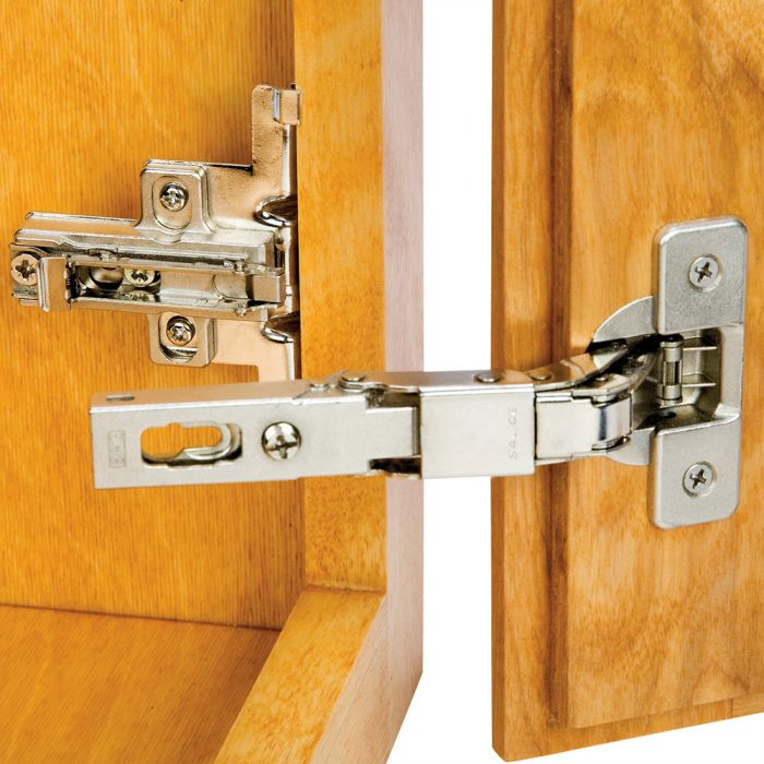 Buy Rockler Hinge and Plate for 3/8 Lipped Face Frame Doors