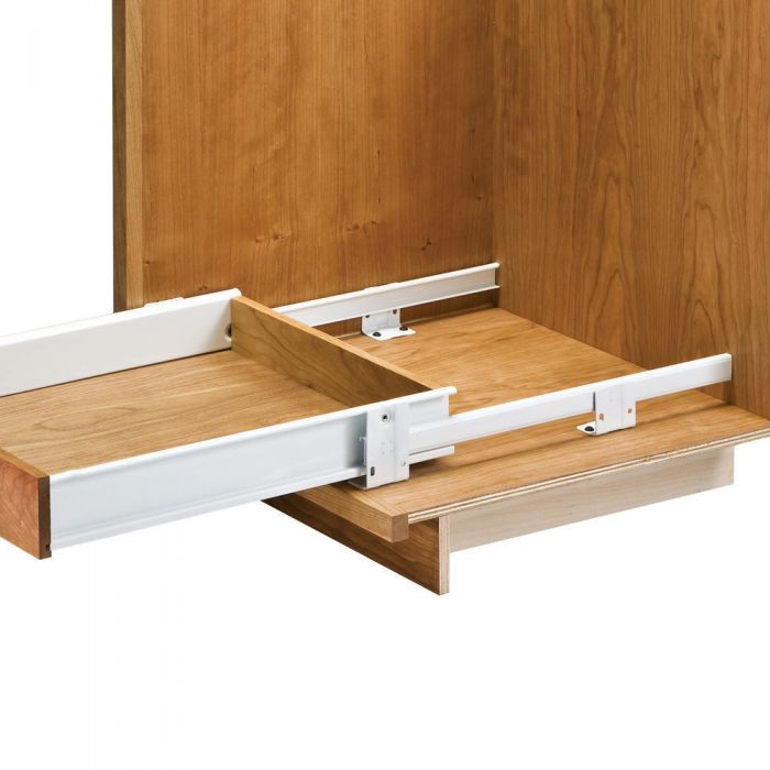 Buy Floor-Mounted Drawer Slides with Metal Sides