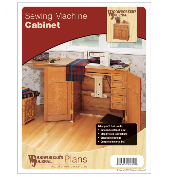 Sewing Machine Cabinet Plan  sc 1 st  Rockler Woodworking & Sewing Machine Cabinet Plan | Rockler Woodworking and Hardware