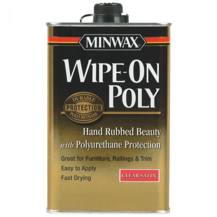Minwax Wipe On Poly Rockler Woodworking And Hardware