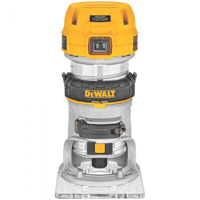 Dewalt dwp611 compact router fixed base rockler woodworking and dewalt dwp611 compact router fixed base greentooth Gallery