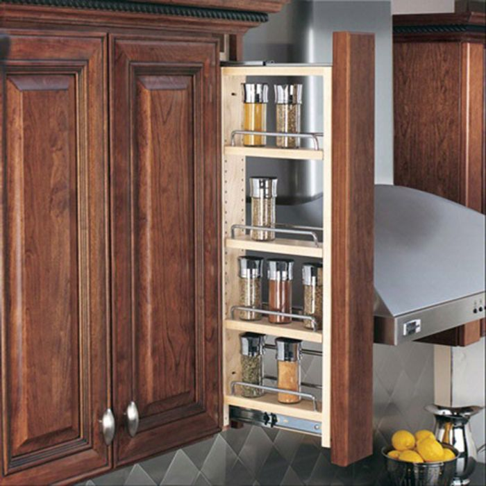 Buy Rev-A-Shelf Filler Pullout Organizer w/Adjustable Shelves for Wall Cabinets (432-WF Series)-30 Height