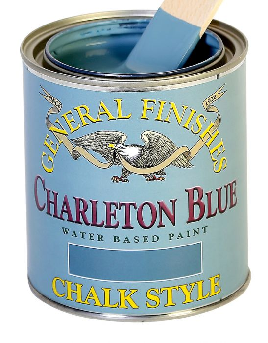General Finishes Chalk Style Paint, Charleton Blue