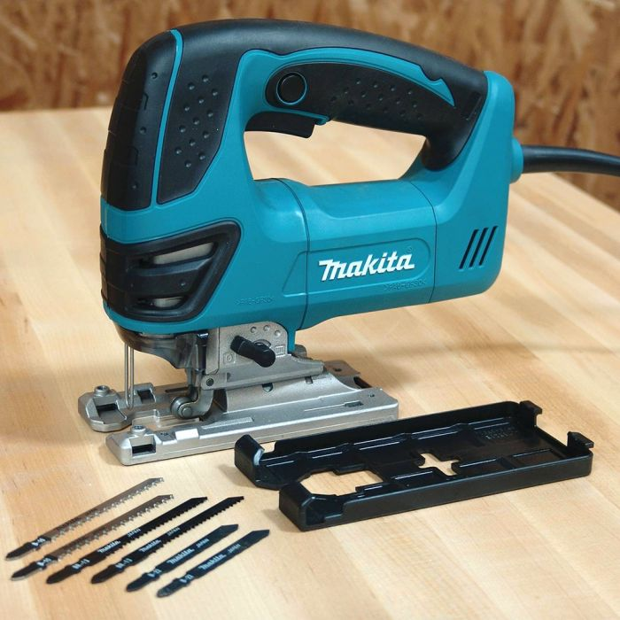 Makita 4350fct top handle jigsaw kit rockler woodworking and hardware skip to the beginning of the images gallery overview makita 4350fct top handle jig saw greentooth Image collections