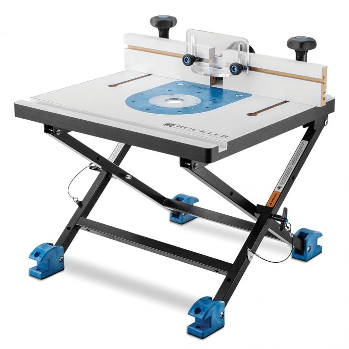 Rockler convertible benchtop router table rockler woodworking and folding bench top router table greentooth Image collections