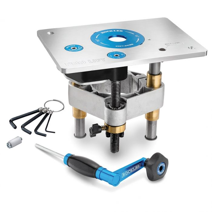 Rockler pro lift router lift 8 14 x 11 34 plate rockler rockler pro lift router lift 8 14 x 11 34 plate greentooth Gallery