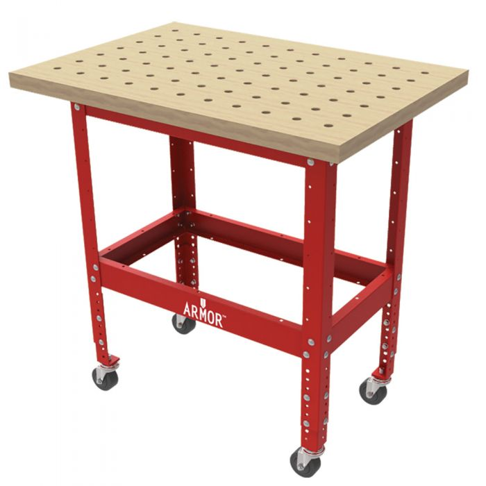 armor butcher block clamping table kits