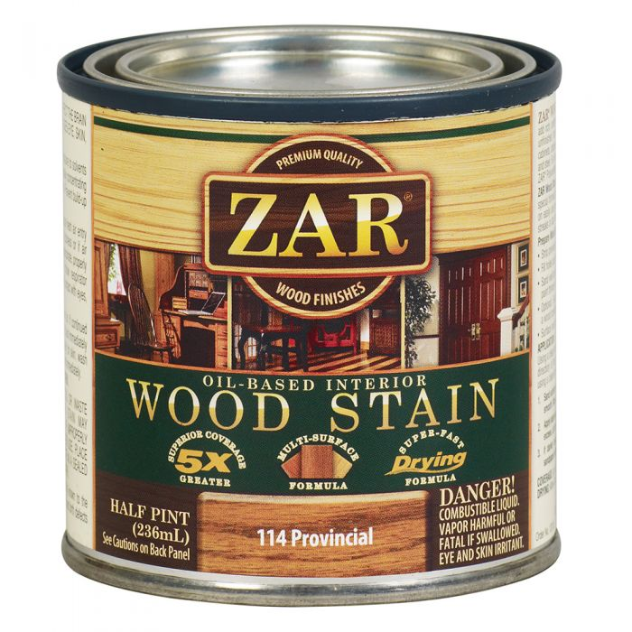 ZARR Oil Based Wood Stain 114 Provincial