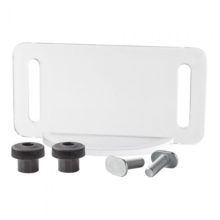 Clear Router Table Bit Guard Kit