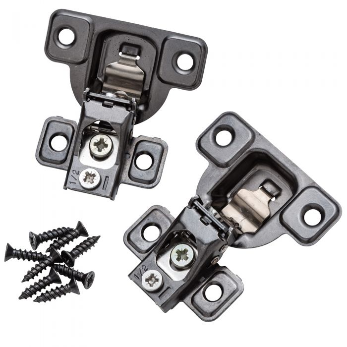 Buy Salice 106 Zero-Protrusion Compact Hinge with Snap Close technology for Face Frame Cabinets - Titanium