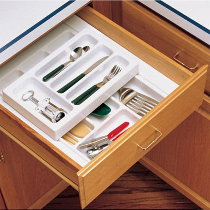 rolling tray kitchen drawer organizers rev a shelf rt series 17 34 wide - Kitchen Drawer Organizers
