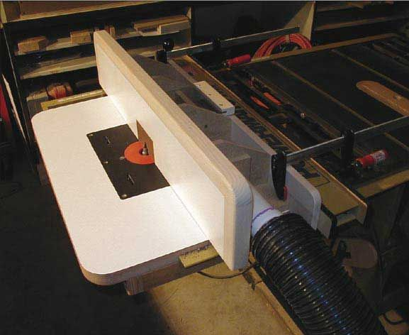 Woodworkers journal dust collecting router table fence plan dust collecting router table fence downloadable plan greentooth Image collections