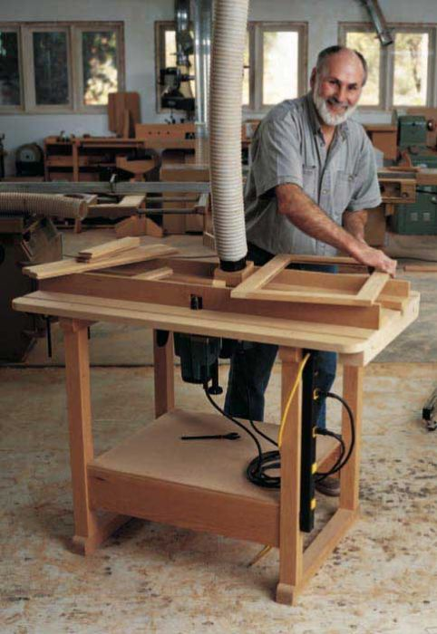 Woodworkers journal ultimate router table plan rockler ultimate router table downloadable plan greentooth Image collections