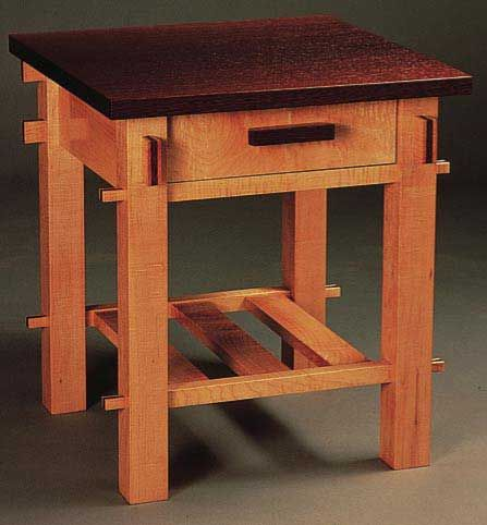 Craftsman End Table Able Plan