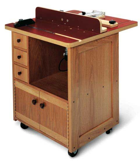 Woodworkers journal custom router table plan rockler woodworking custom router table downloadable plan greentooth Image collections