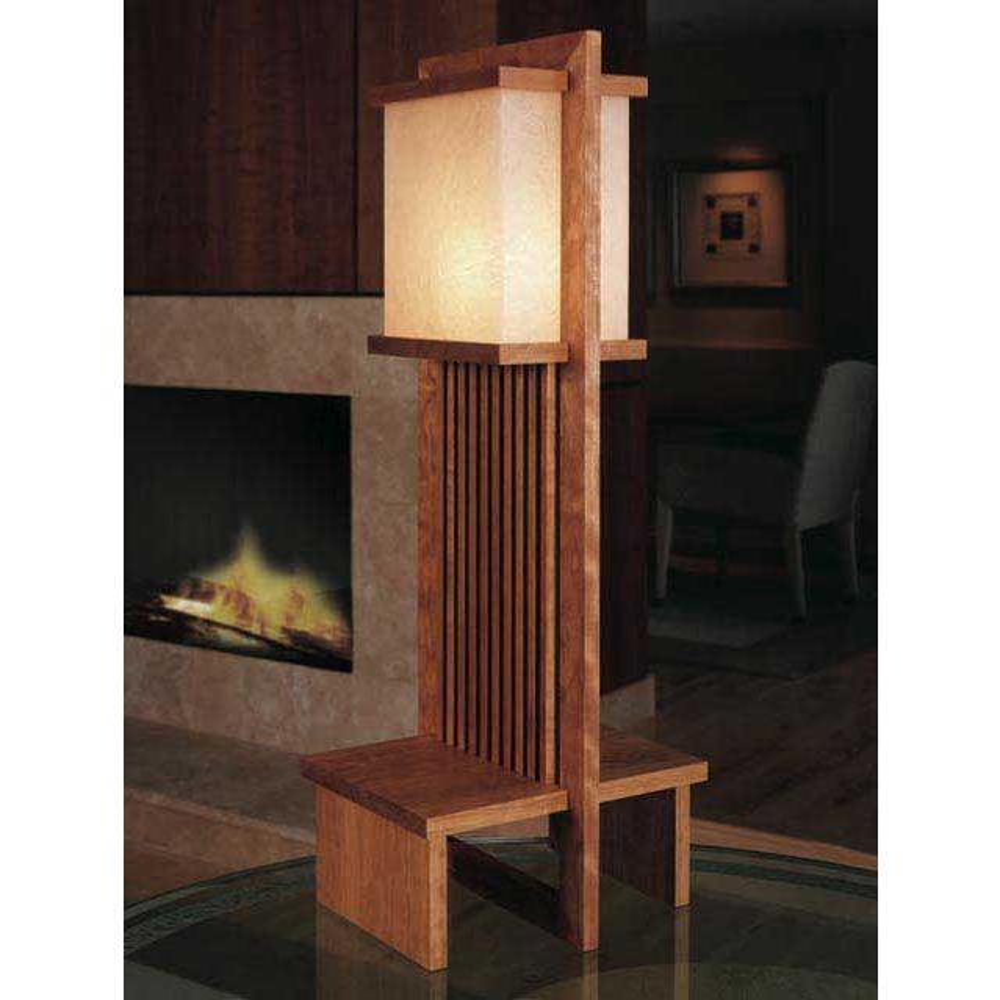 Frank Lloyd Wright Lamp Able Plan