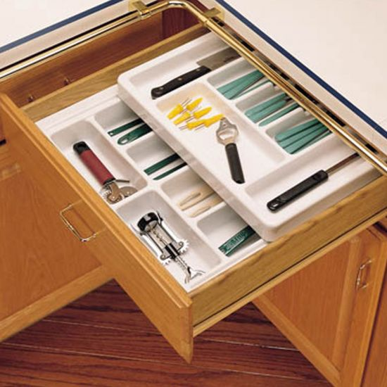 Rolling Tray Kitchen Drawer Organizers Rev A Shelf Rt