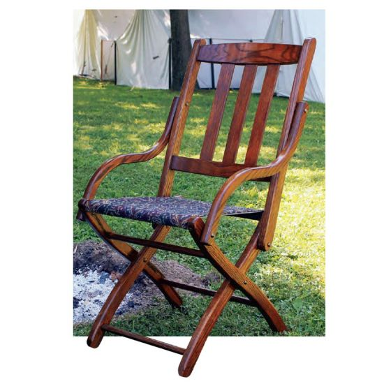 Civil War Officer's Chair Downloadable Plan