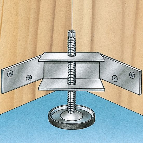 Adjustable Corner Support Rockler Woodworking And Hardware