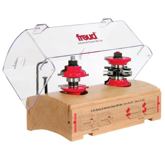 Freud 99 267 2 Pc Entry Interior Router Bit Set Rockler Woodworking And Hardware