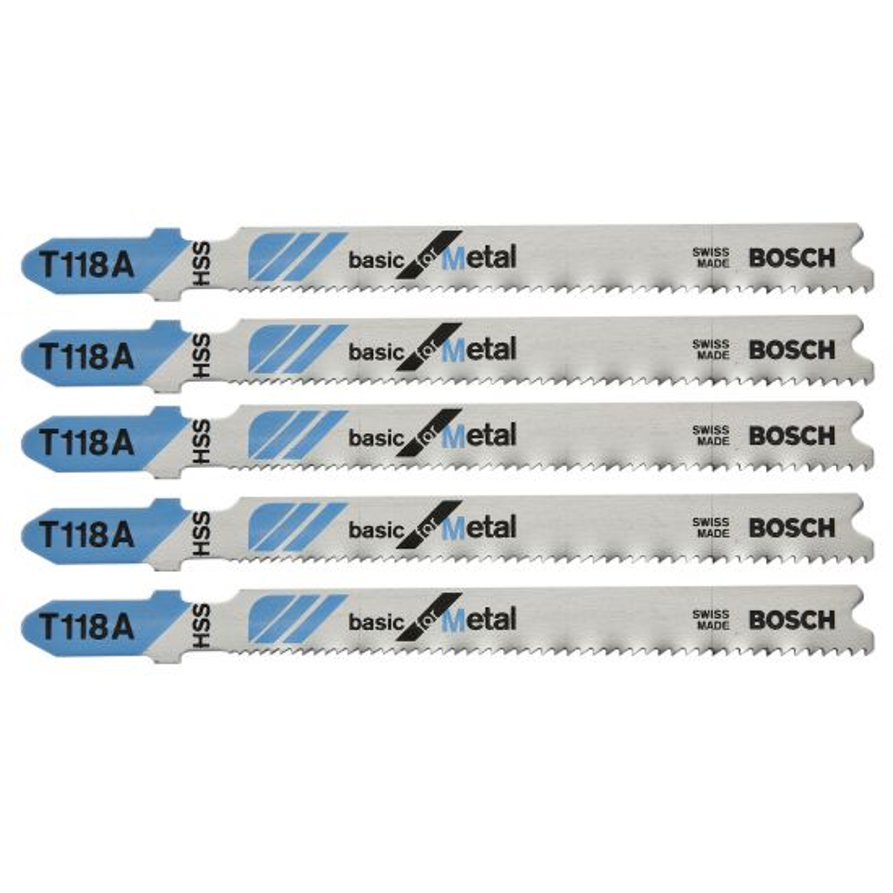 Bosch T-Shank Fine Cut Jig Saw Blades