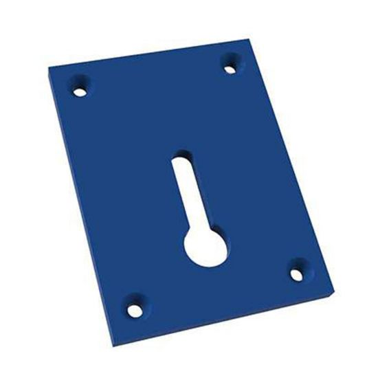 "Additional Insert Plate for Kreg Bench Clamp, 3"" x 4"" x 1/4"""