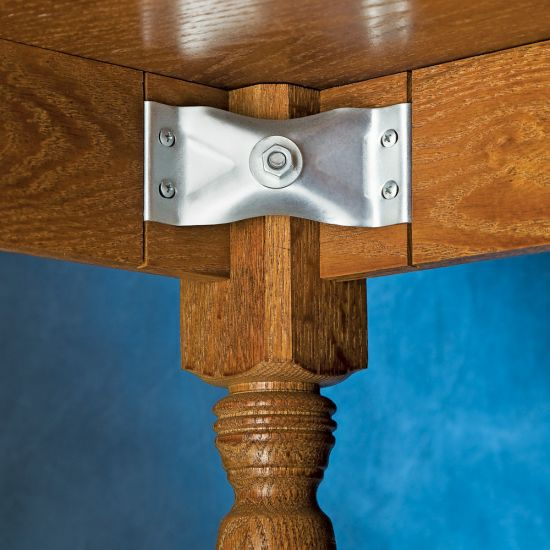 Kerf Mount Corner Brackets for Table Aprons-Kerf Mount