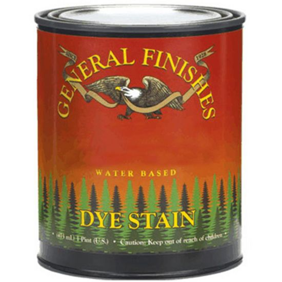 Water-Based Dye Stain by General Finishes