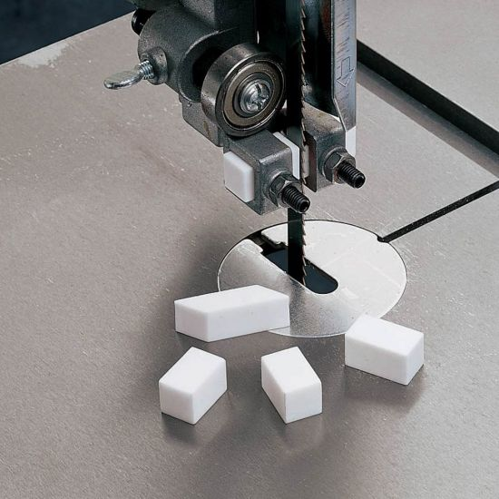 Ceramic Guide Blocks for Bandsaws, 4-Pack