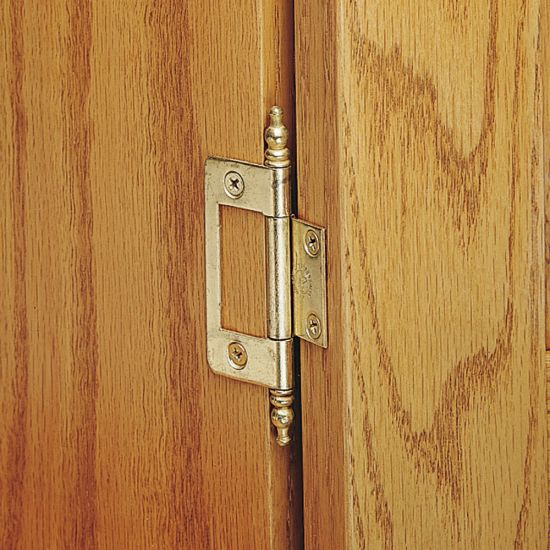 Non-Mortise Hinges-With Finial