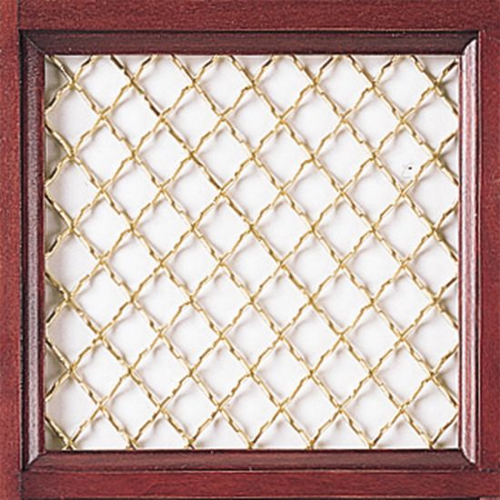 Hand Woven Brass Grille