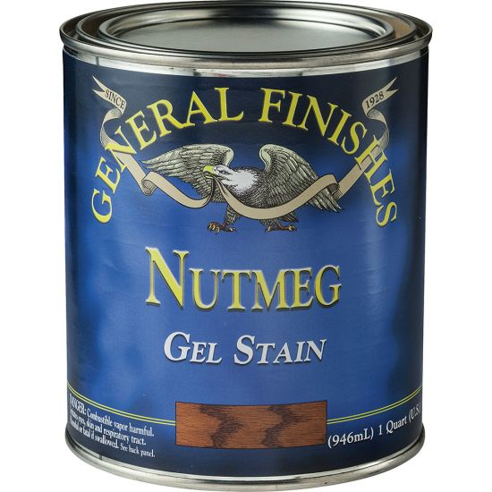 Gel Stain - General Finishes - Nutmeg