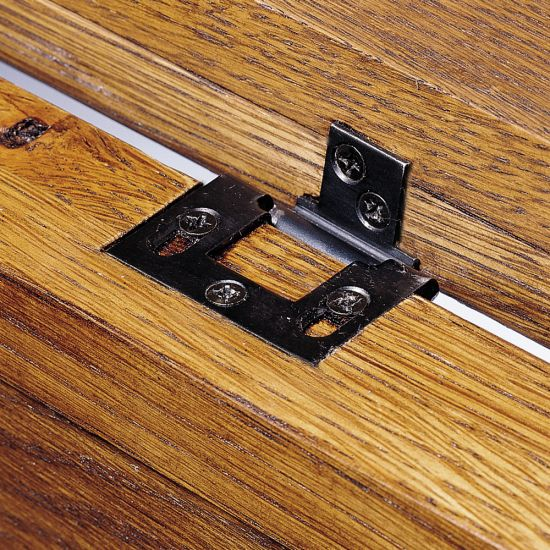 Separable Hinges for Lids