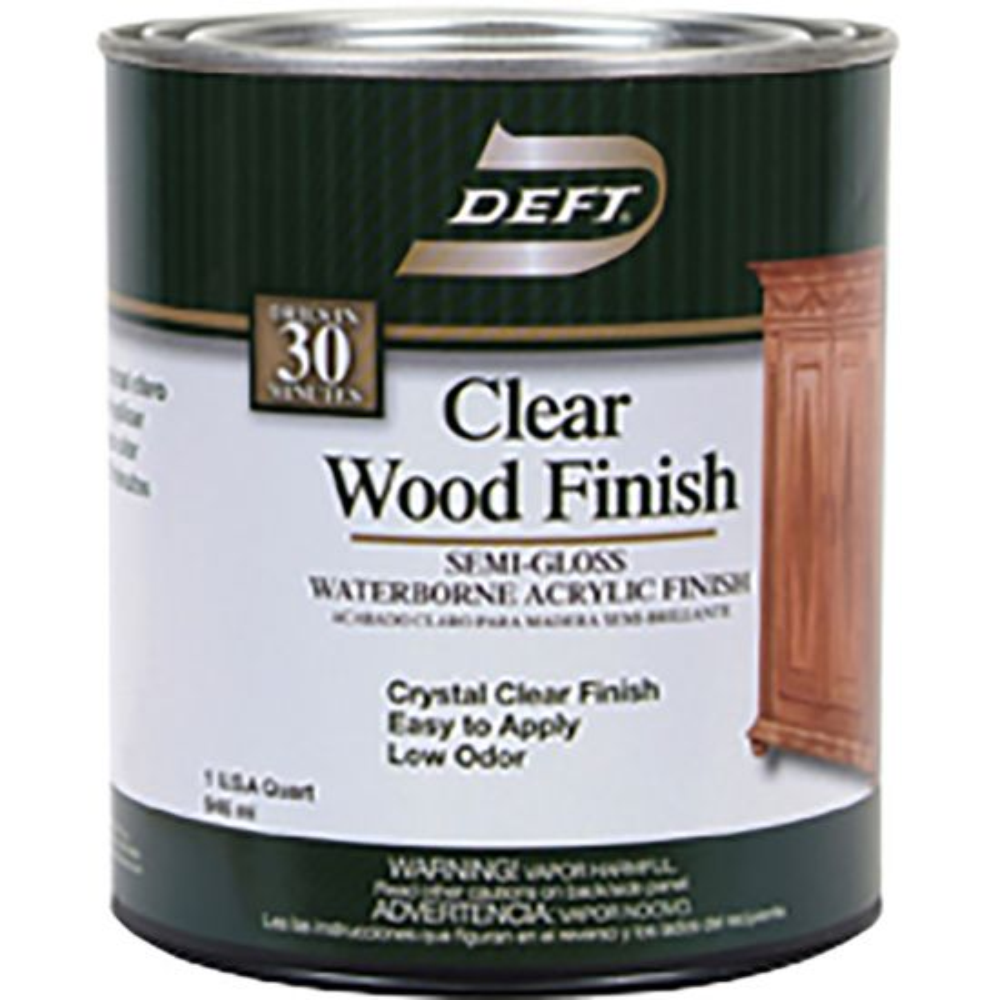 Deft® Waterborne Clear Wood Finish