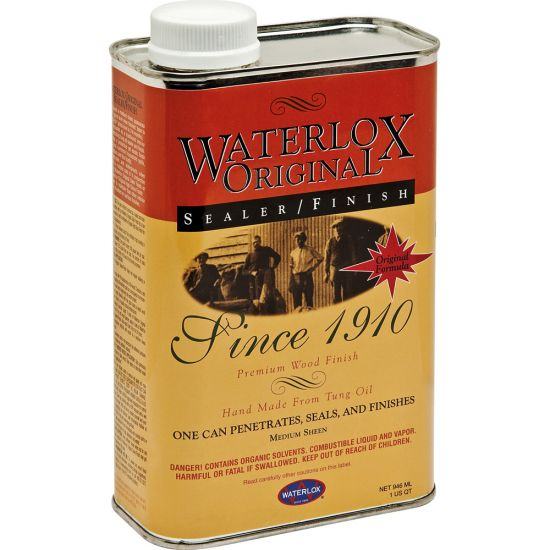 Waterlox Original Sealer Finish Quart Tb 5284 Rockler