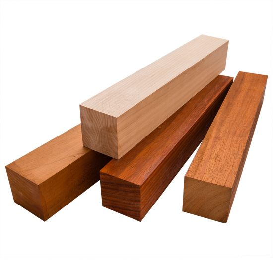 Turning Assortment, 4-Pack of 2'' x 2'' x 12'' Blanks