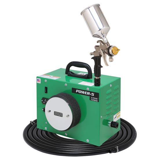 Apollo Power 5 Hvlp Spray System With Gravity Feed Gun