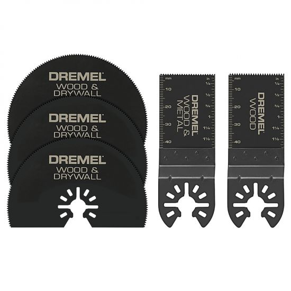 Dremel MM389 5-Piece Multi-Max OMT Accessory Kit