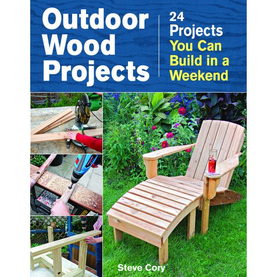Outdoor Wood Projects Book Rockler Woodworking And Hardware