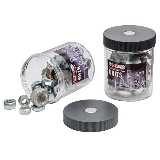 2-Piece Magnetic Canister Set