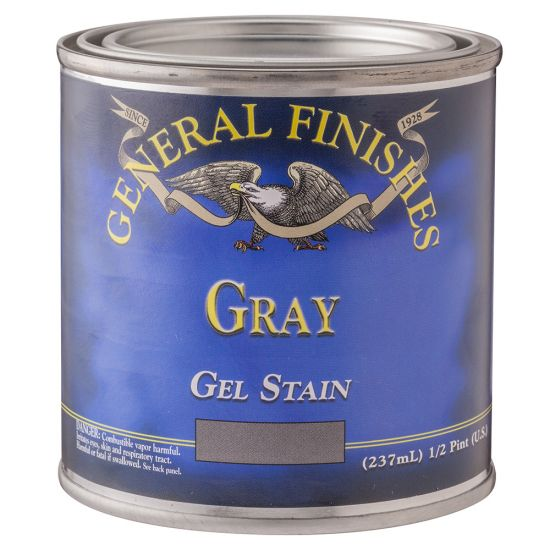 General Finishes Gel Stain, Gray