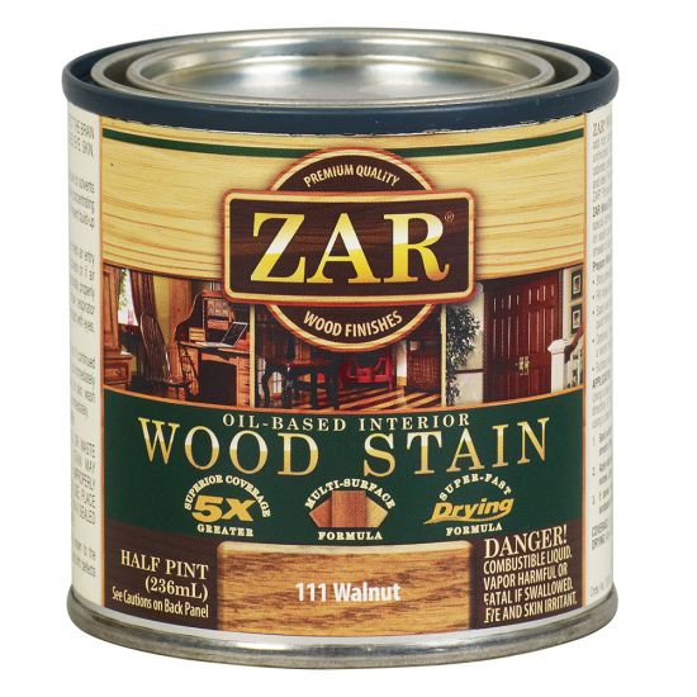 ZAR® Oil-Based Wood Stain, 111 Walnut