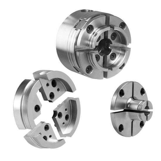 Nova G3 Reversible Chuck Bundle with 3 Jaw Sets and Case